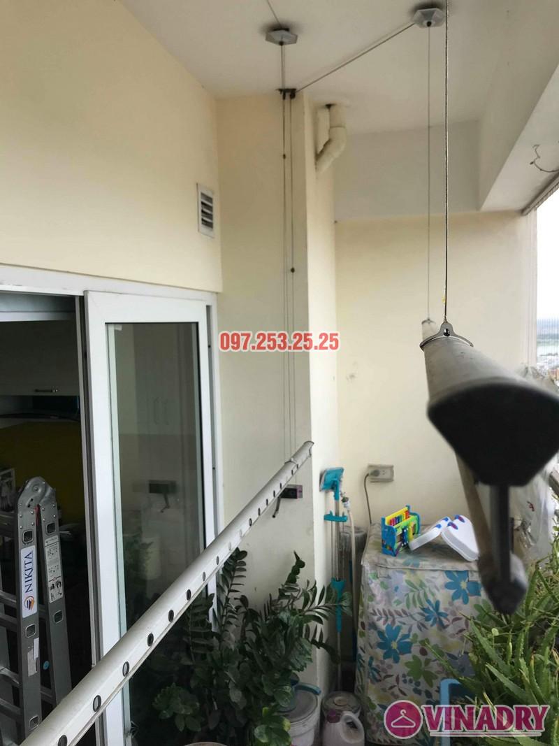 Sửa giàn phơi tại Hoàng Mai nhà anh Phú, chung cư Nam Đô Complex - 06