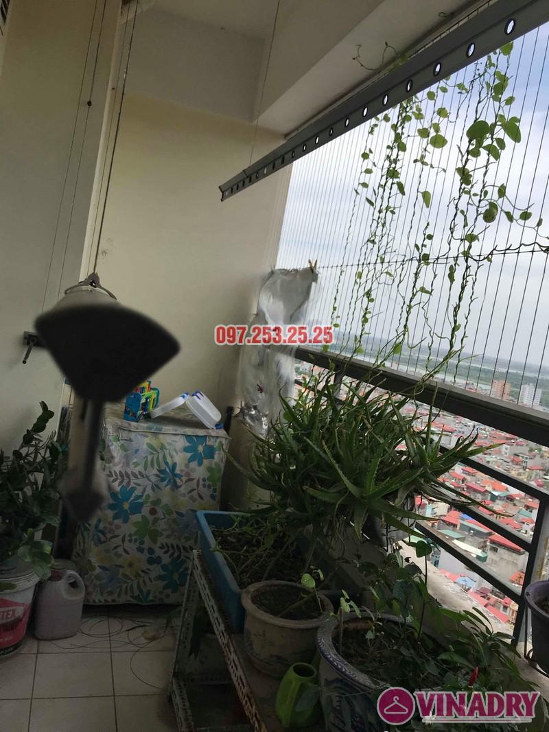 Sửa giàn phơi tại Hoàng Mai nhà anh Phú, chung cư Nam Đô Complex - 07