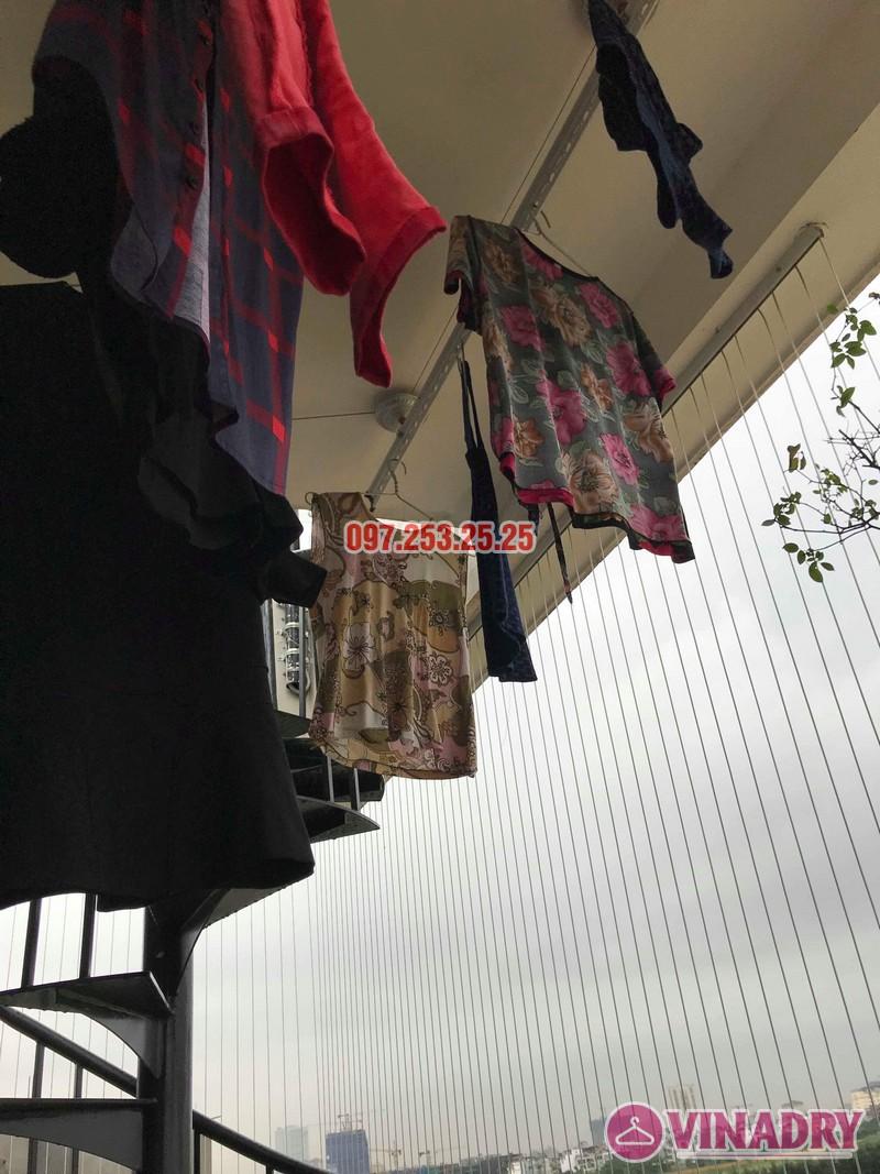 Sửa giàn phơi quần áo tại Long Biên nhà chị Ngà, ngõ 75 Tư Đình - 07