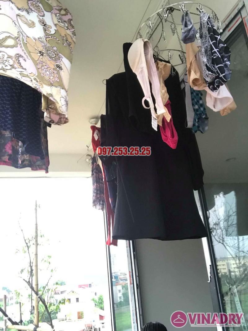 Sửa giàn phơi quần áo tại Long Biên nhà chị Ngà, ngõ 75 Tư Đình - 06