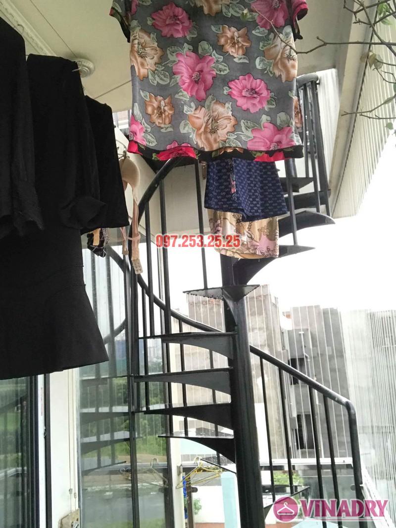 Sửa giàn phơi quần áo tại Long Biên nhà chị Ngà, ngõ 75 Tư Đình - 05