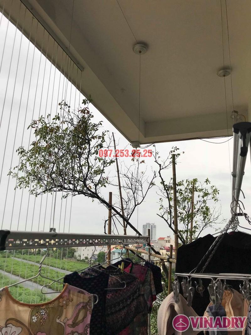 Sửa giàn phơi quần áo tại Long Biên nhà chị Ngà, ngõ 75 Tư Đình - 04