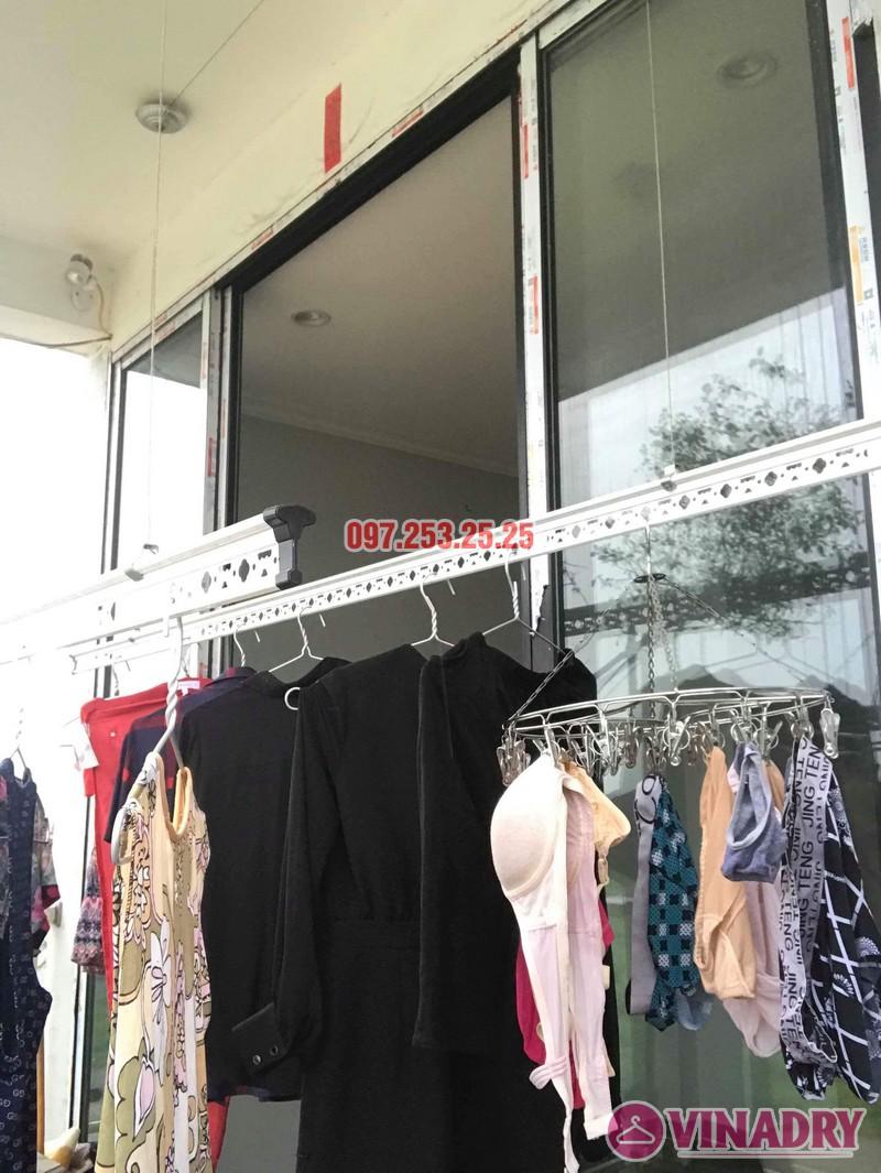 Sửa giàn phơi quần áo tại Long Biên nhà chị Ngà, ngõ 75 Tư Đình - 03