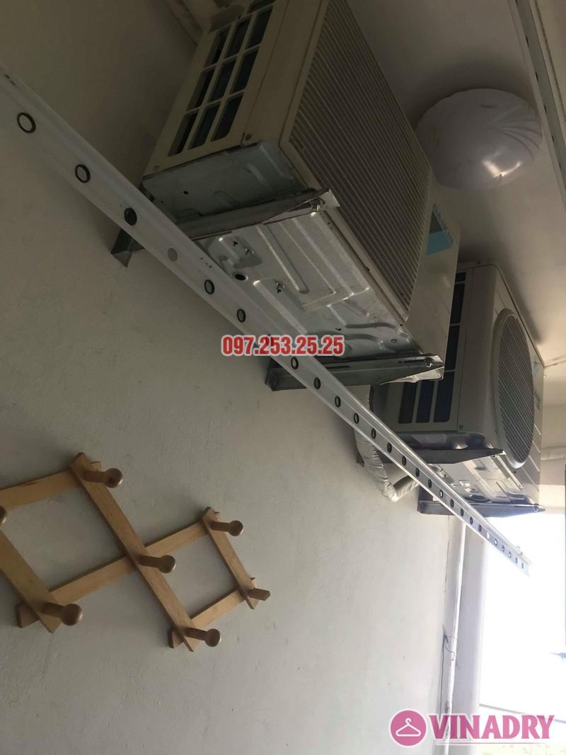 Sửa giàn phơi thông minh Hà Đông, nhà anh Minh, chung cư mini CT6XD ngõ 82 Nguyễn Khuyến - 01