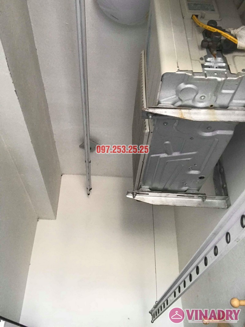Sửa giàn phơi thông minh Hà Đông, nhà anh Minh, chung cư mini CT6XD ngõ 82 Nguyễn Khuyến - 02