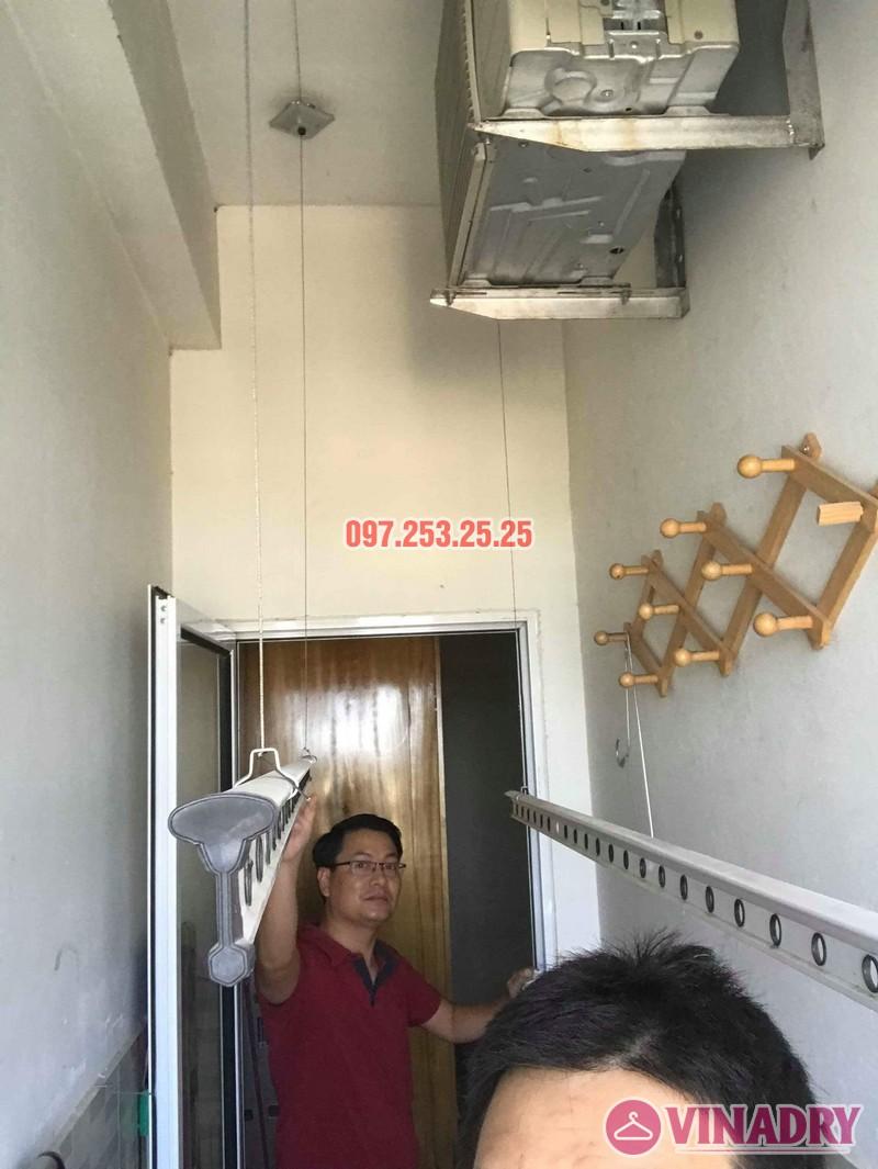 Sửa giàn phơi thông minh Hà Đông, nhà anh Minh, chung cư mini CT6XD ngõ 82 Nguyễn Khuyến - 03