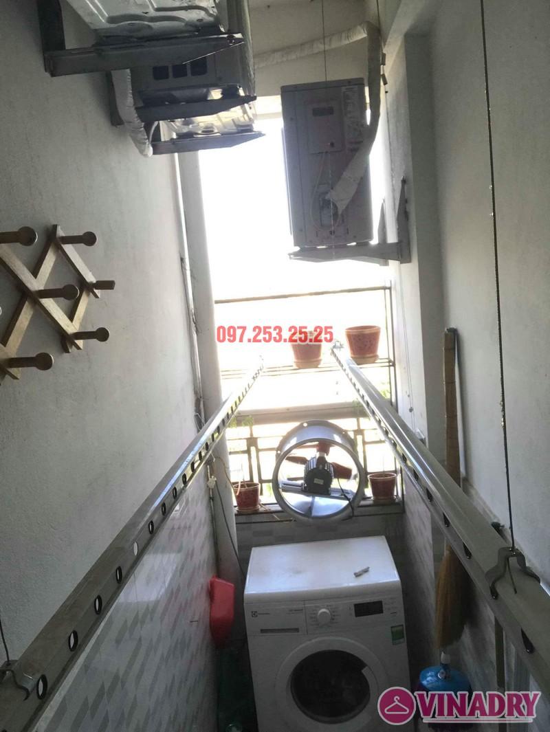 Sửa giàn phơi thông minh Hà Đông, nhà anh Minh, chung cư mini CT6XD ngõ 82 Nguyễn Khuyến - 05