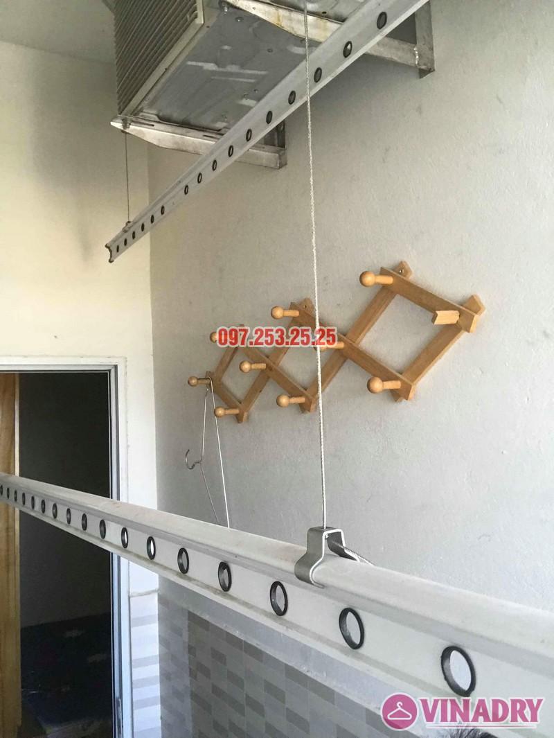 Sửa giàn phơi thông minh Hà Đông, nhà anh Minh, chung cư mini CT6XD ngõ 82 Nguyễn Khuyến - 06