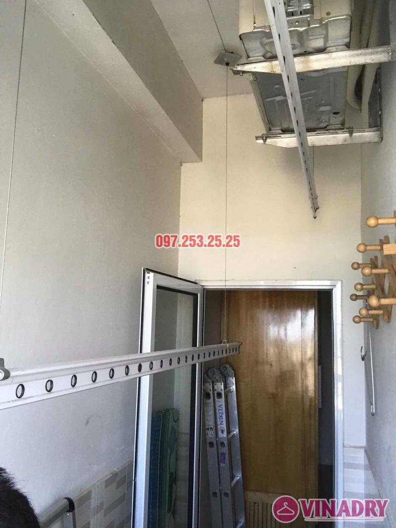 Sửa giàn phơi thông minh Hà Đông, nhà anh Minh, chung cư mini CT6XD ngõ 82 Nguyễn Khuyến - 07