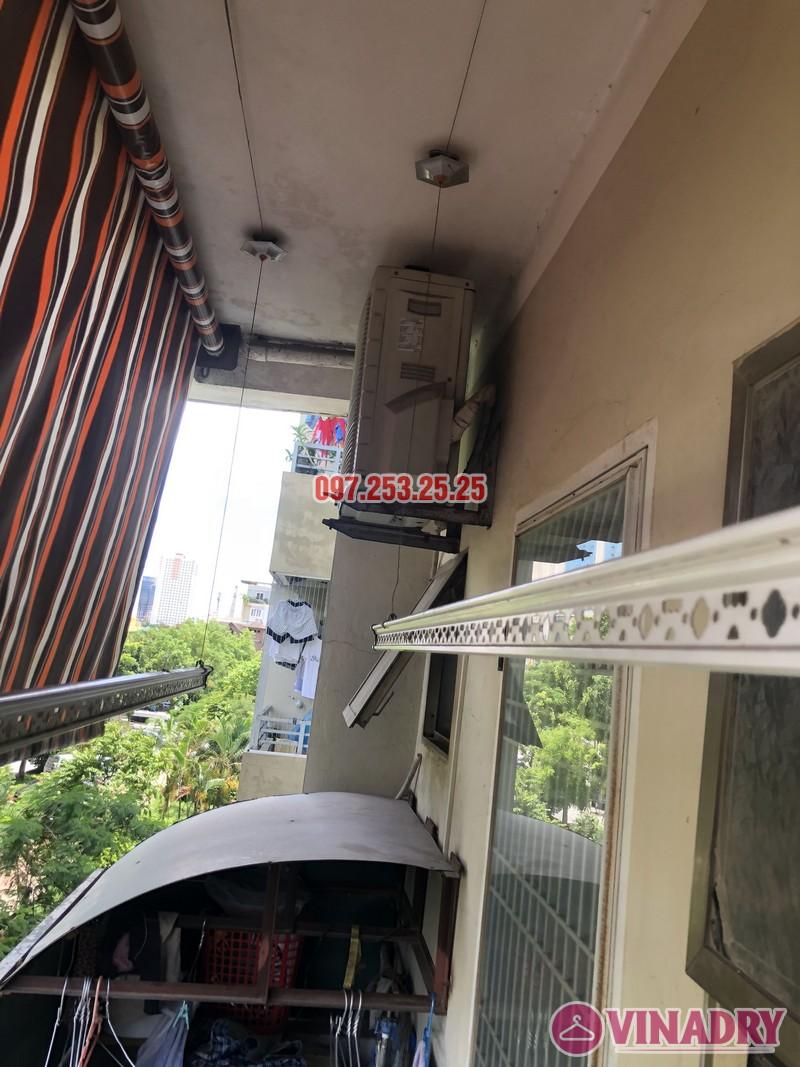 Sửa giàn phơi thông minh nhà chị Hà, căn 310, tòa CT8B, kđt Văn Quán, Hà Đông - 03