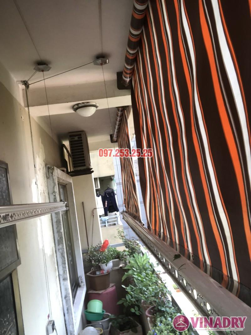 Sửa giàn phơi thông minh nhà chị Hà, căn 310, tòa CT8B, kđt Văn Quán, Hà Đông - 04