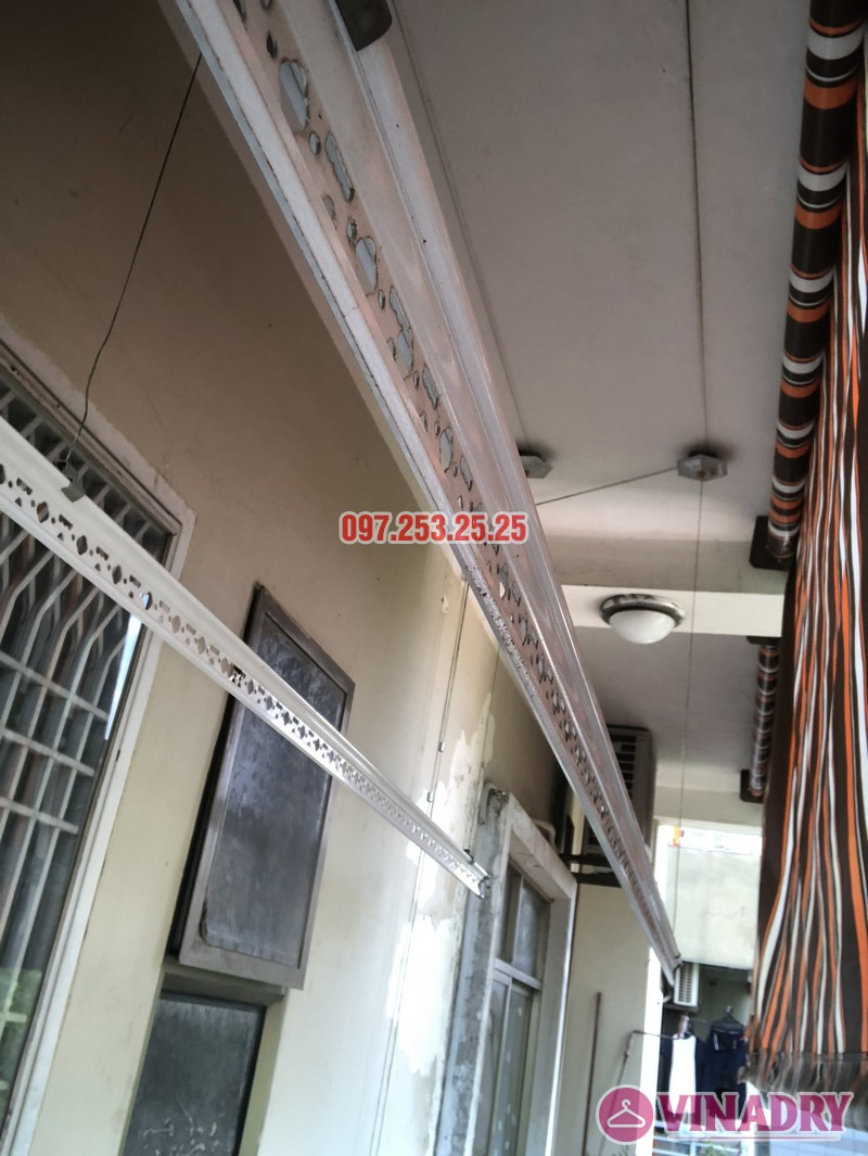 Sửa giàn phơi thông minh nhà chị Hà, căn 310, tòa CT8B, kđt Văn Quán, Hà Đông - 05