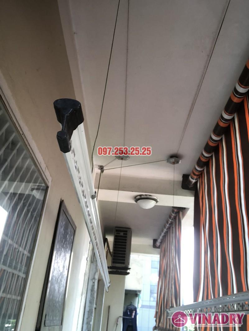 Sửa giàn phơi thông minh nhà chị Hà, căn 310, tòa CT8B, kđt Văn Quán, Hà Đông - 06