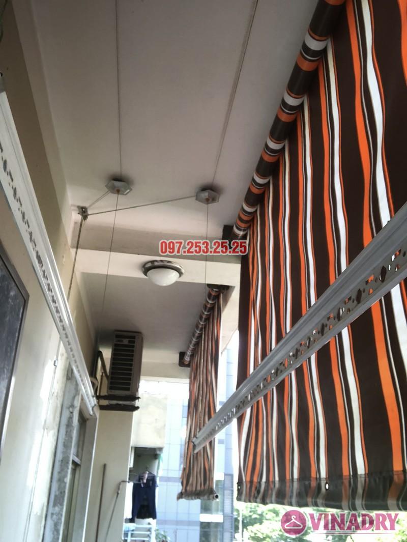 Sửa giàn phơi thông minh nhà chị Hà, căn 310, tòa CT8B, kđt Văn Quán, Hà Đông - 07