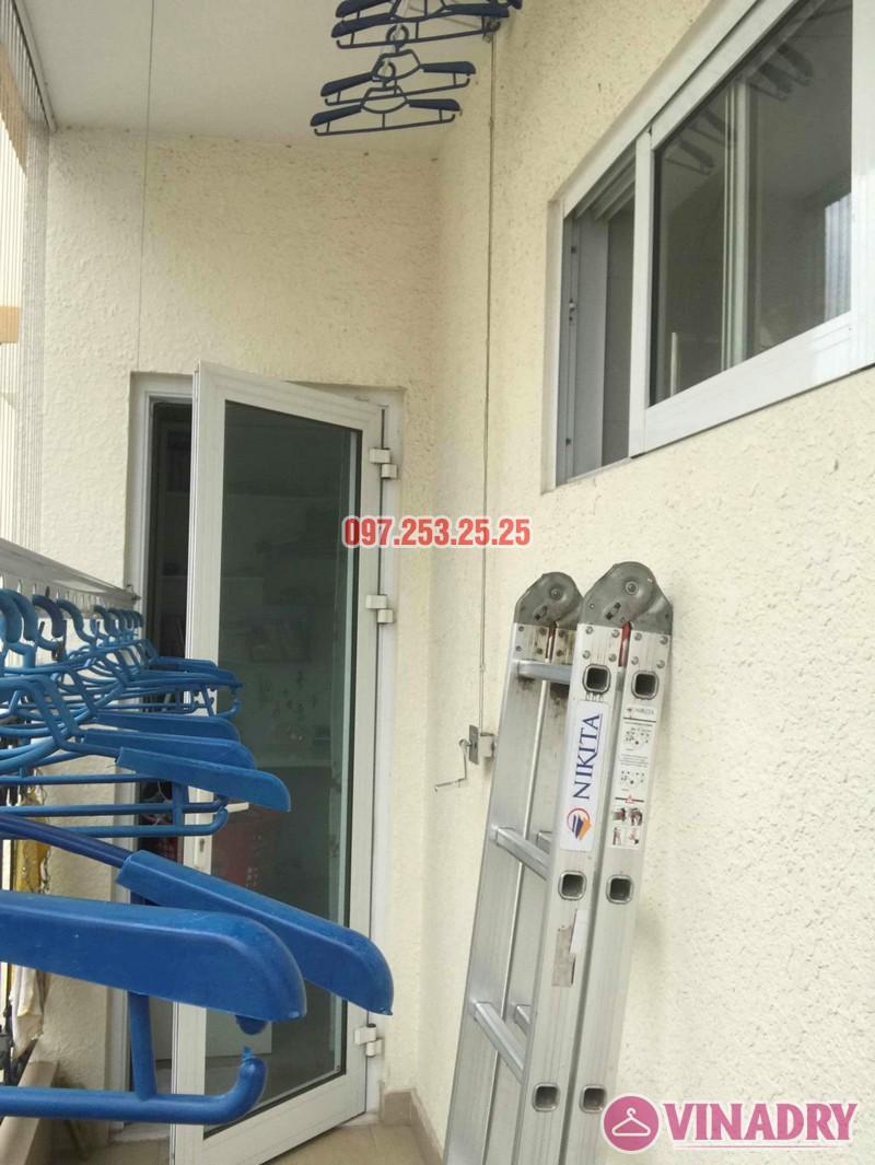 Sửa giàn phơi tại chung cư Hòa Bình Green, 505 Minh Khai, Hai Bà Trưng nhà chị Trang - 07