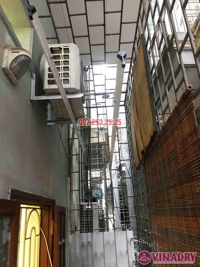 Sửa giàn phơi thông minh tại Hoàng Mai nhà chị Lý, ngách 122/296 Minh Khai - 03