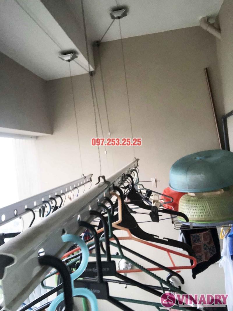 Sửa giàn phơi thông minh Hà Đông nhà anh Tân, chung cư CT2 The Pride - 01