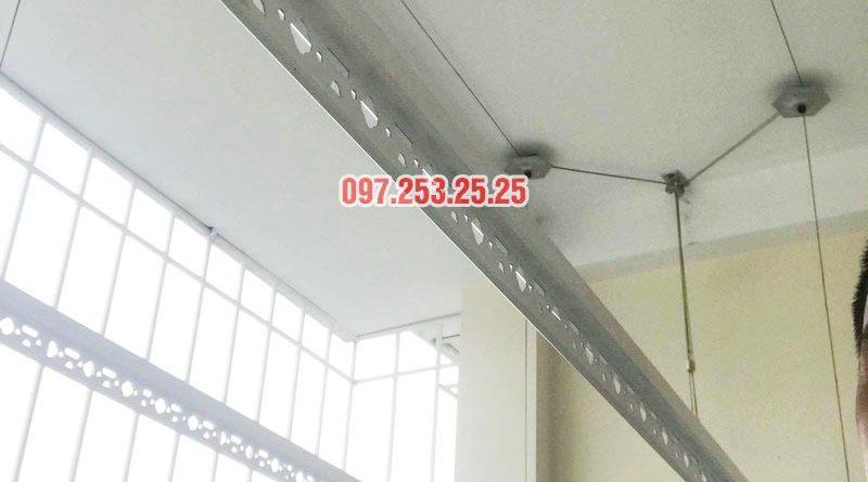 Lắp giàn phơi thông minh giá rẻ tại Hà Đông nhà anh Tính, ngõ 20 Ngô Quyền - 04