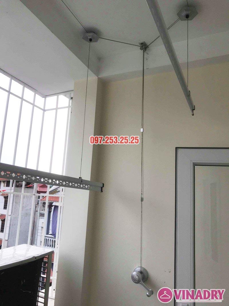 Lắp giàn phơi thông minh giá rẻ tại Hà Đông nhà anh Tính, ngõ 20 Ngô Quyền - 06