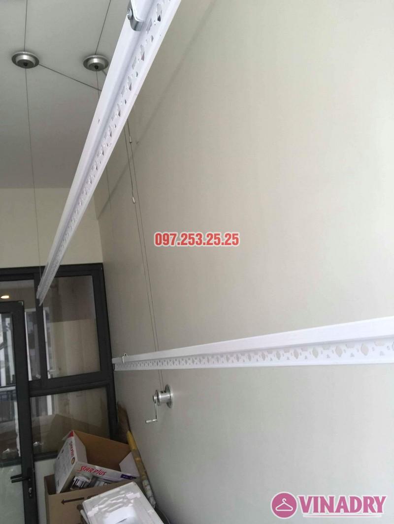 Lắp giàn phơi quần áo thông minh nhà chị Liễu, tòa A5, An Bình City, 232 Phạm Văn Đồng