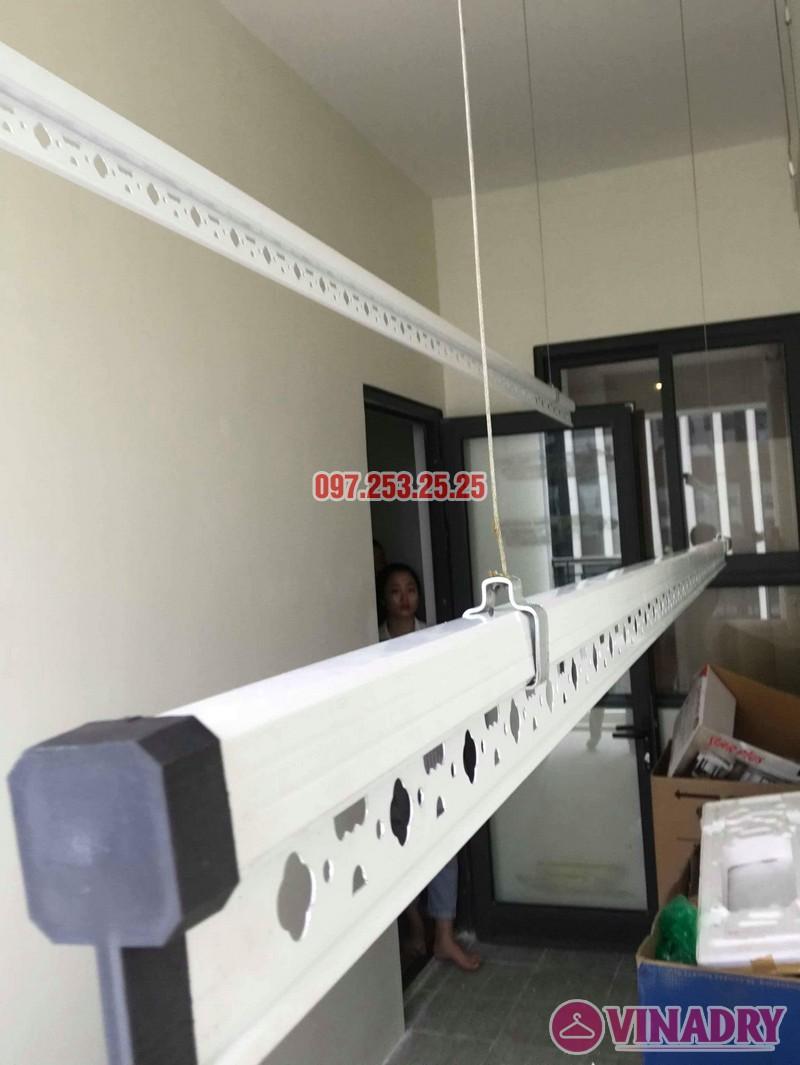 Lắp giàn phơi quần áo thông minh nhà chị Liễu, tòa A5, An Bình City, 232 Phạm Văn Đồng - 04