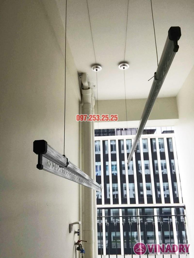 Lắp giàn phơi quần áo thông minh nhà chị Liễu, tòa A5, An Bình City, 232 Phạm Văn Đồng - 05