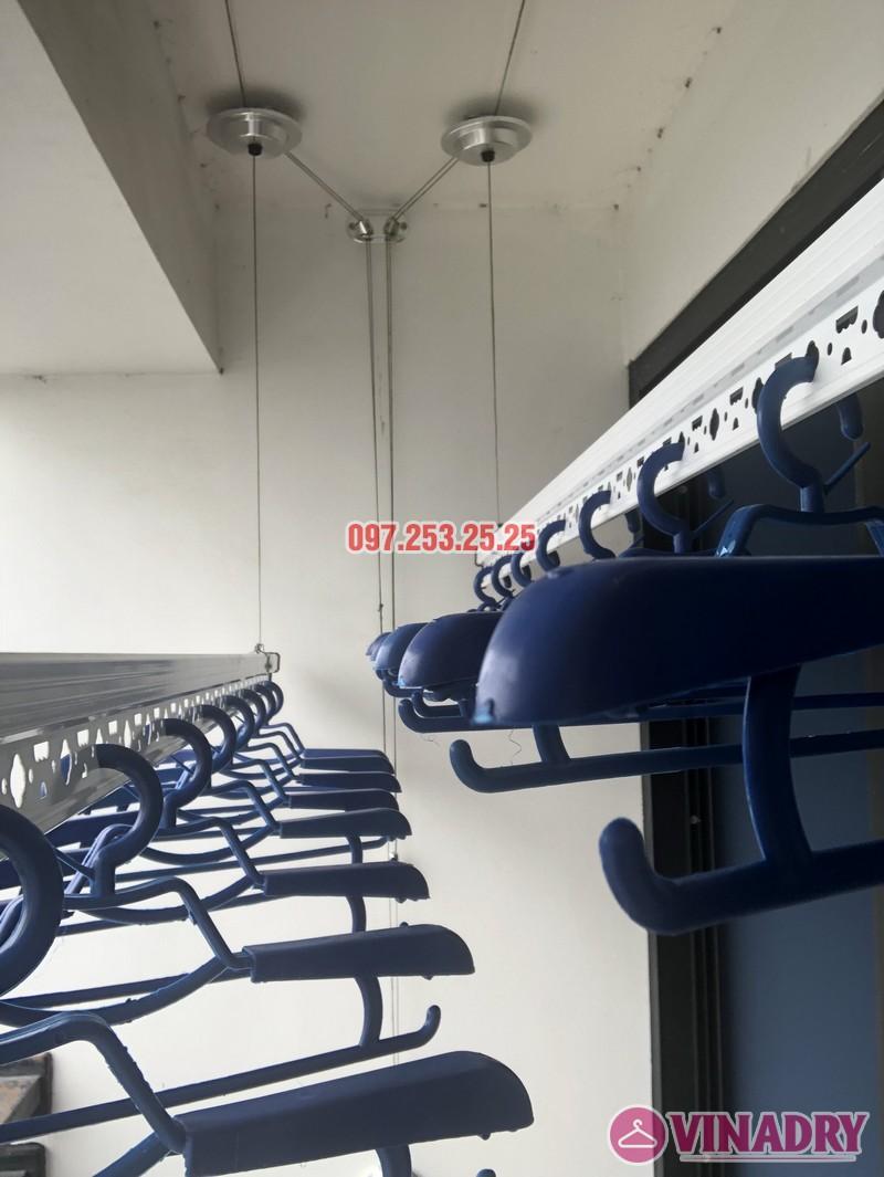 Lắp giàn phơi quần áo thông minh nhà chị Thắm, căn 1503 Tòa T6 Times City - 01