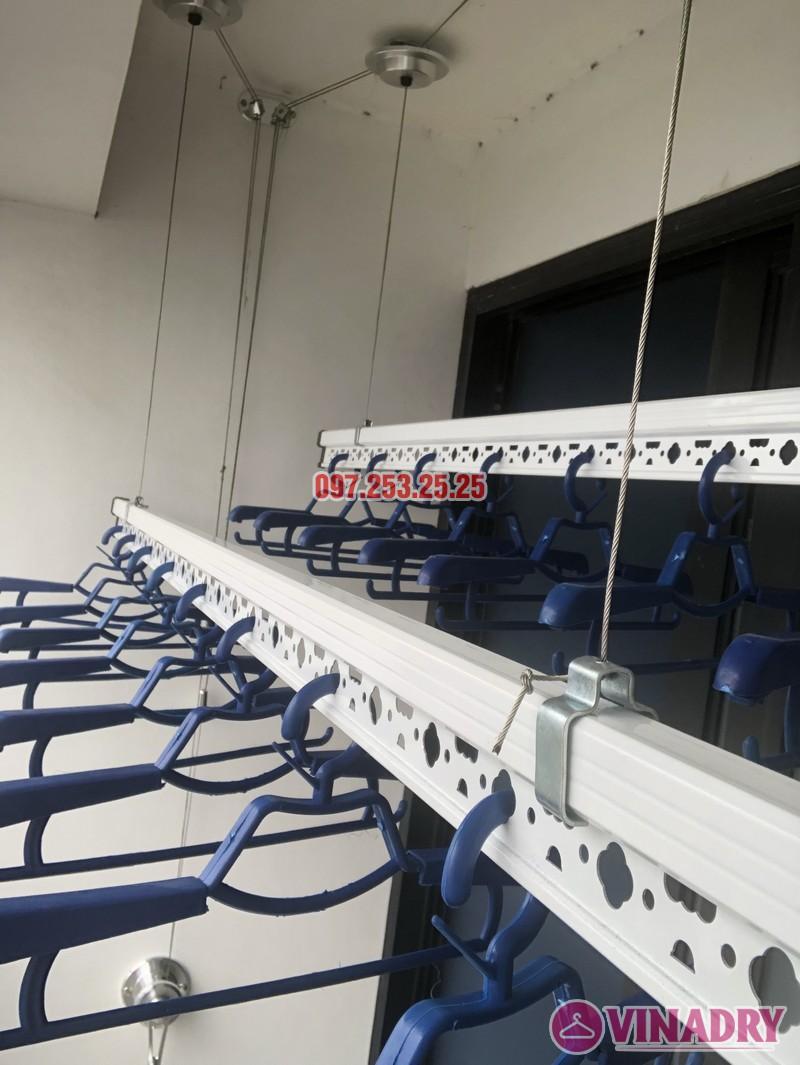 Lắp giàn phơi quần áo thông minh nhà chị Thắm, căn 1503 Tòa T6 Times City - 04