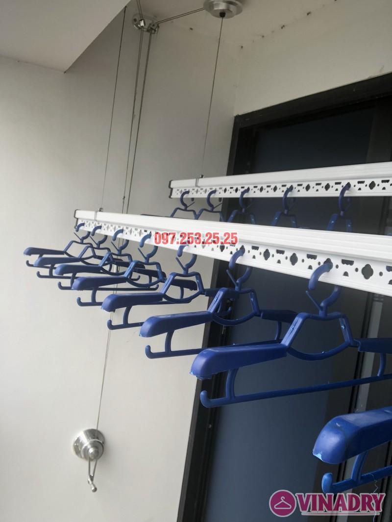 Lắp giàn phơi quần áo thông minh nhà chị Thắm, căn 1503 Tòa T6 Times City - 06