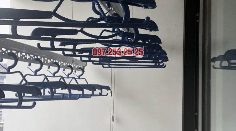 Lắp giàn phơi quần áo thông minh nhà chị Thắm, căn 1503 Tòa T6 Times City - 07