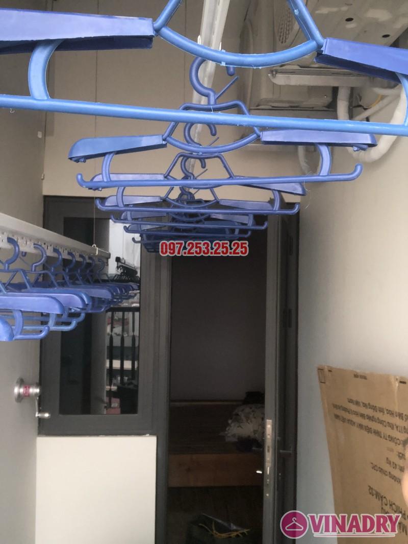 Lắp giàn phơi tại Bắc Từ Liêm nhà chị Hải, căn 701 chung cư C2 Xuân Đỉnh - 03