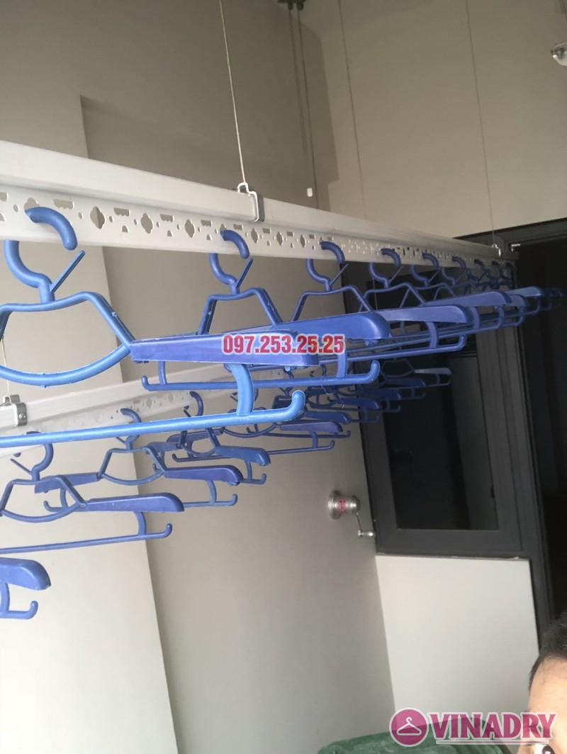 Lắp giàn phơi tại Bắc Từ Liêm nhà chị Hải, căn 701 chung cư C2 Xuân Đỉnh - 04