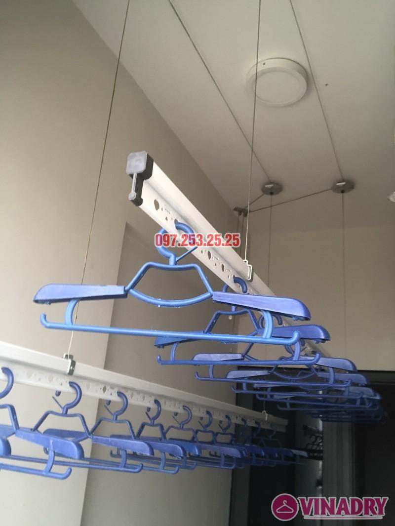 Lắp giàn phơi tại Bắc Từ Liêm nhà chị Hải, căn 701 chung cư C2 Xuân Đỉnh - 05