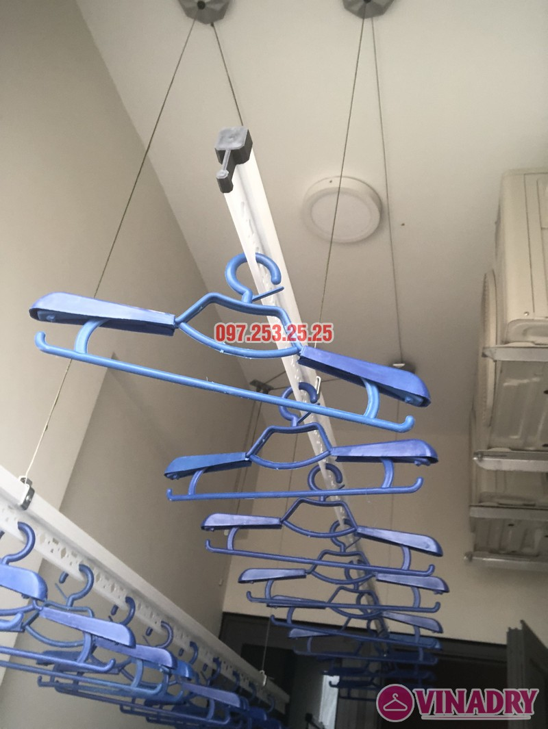 Lắp giàn phơi tại Bắc Từ Liêm nhà chị Hải, căn 701 chung cư C2 Xuân Đỉnh - 06