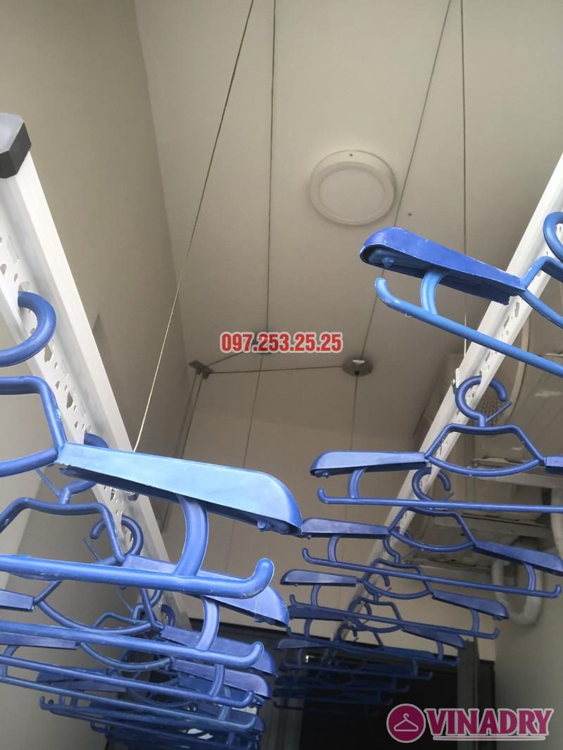 Lắp giàn phơi tại Bắc Từ Liêm nhà chị Hải, căn 701 chung cư C2 Xuân Đỉnh - 07