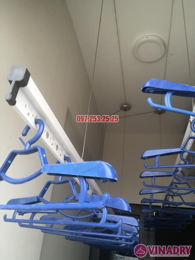 Lắp giàn phơi tại Bắc Từ Liêm nhà chị Hải, căn 701 chung cư C2 Xuân Đỉnh - 08