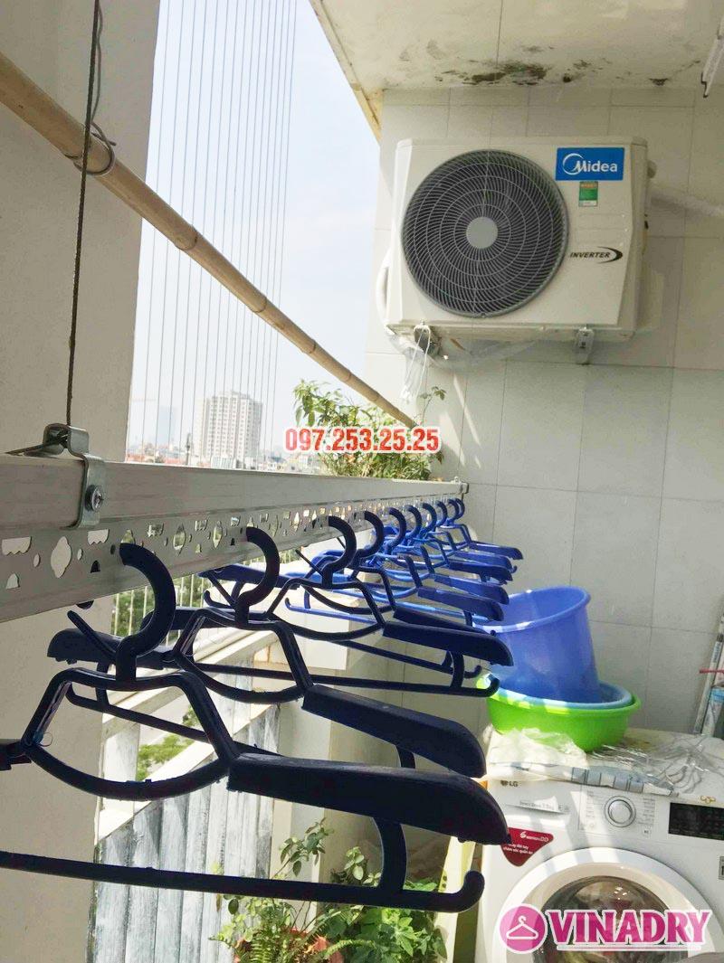 Lắp giàn phơi quần áo thông minh nhà anh Đại, CT13 Ciputra, Tây Hồ, Hà Nội - 01