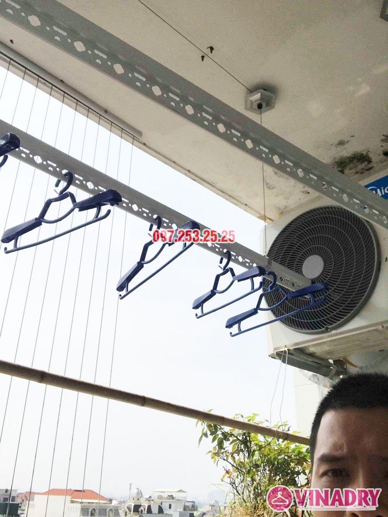 Lắp giàn phơi quần áo thông minh nhà anh Đại, CT13 Ciputra, Tây Hồ, Hà Nội - 02