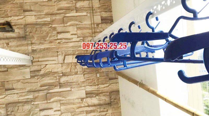 Lắp giàn phơi quần áo thông minh nhà anh Đại, CT13 Ciputra, Tây Hồ, Hà Nội - 05