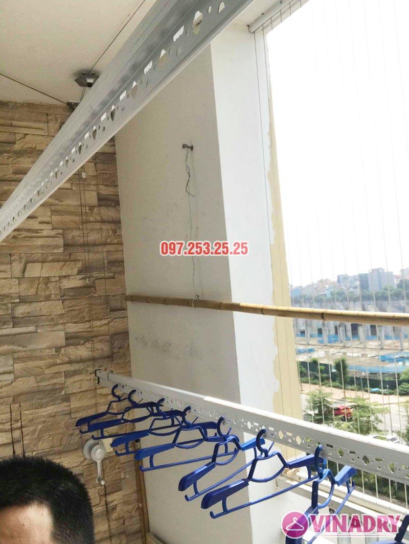 Lắp giàn phơi quần áo thông minh nhà anh Đại, CT13 Ciputra, Tây Hồ, Hà Nội - 06