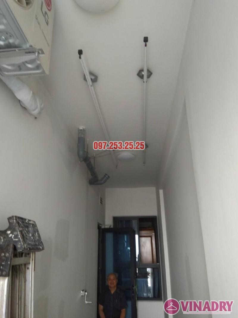 Lắp đặt giàn phơi thông minh tại Gold Mark City nhà chú Hà, tòa R3 - 02