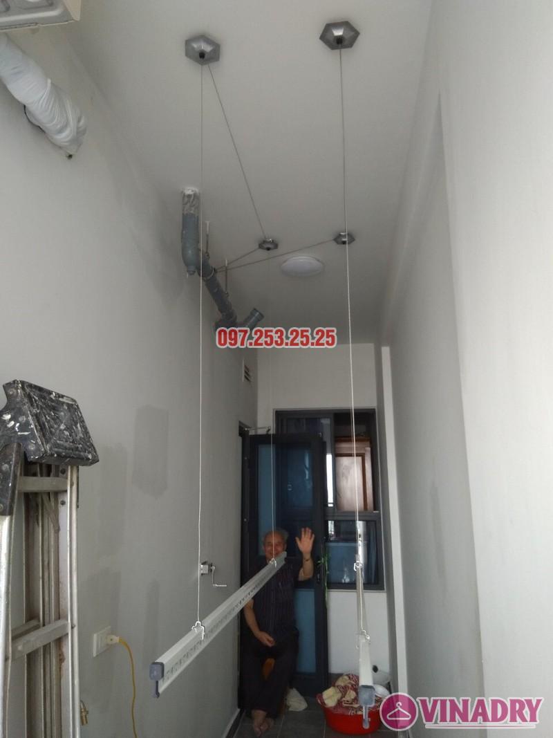 Lắp đặt giàn phơi thông minh tại Gold Mark City nhà chú Hà, tòa R3 - 03