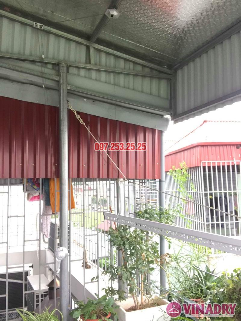 Lắp giàn phơi cho trần mái tôn nhà chú Tâm, 316 Ngọc Thụy, Long Biên, Hà Nội - 03