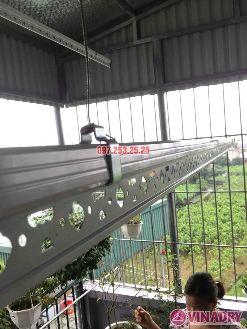 Lắp giàn phơi cho trần mái tôn nhà chú Tâm, 316 Ngọc Thụy, Long Biên, Hà Nội - 05