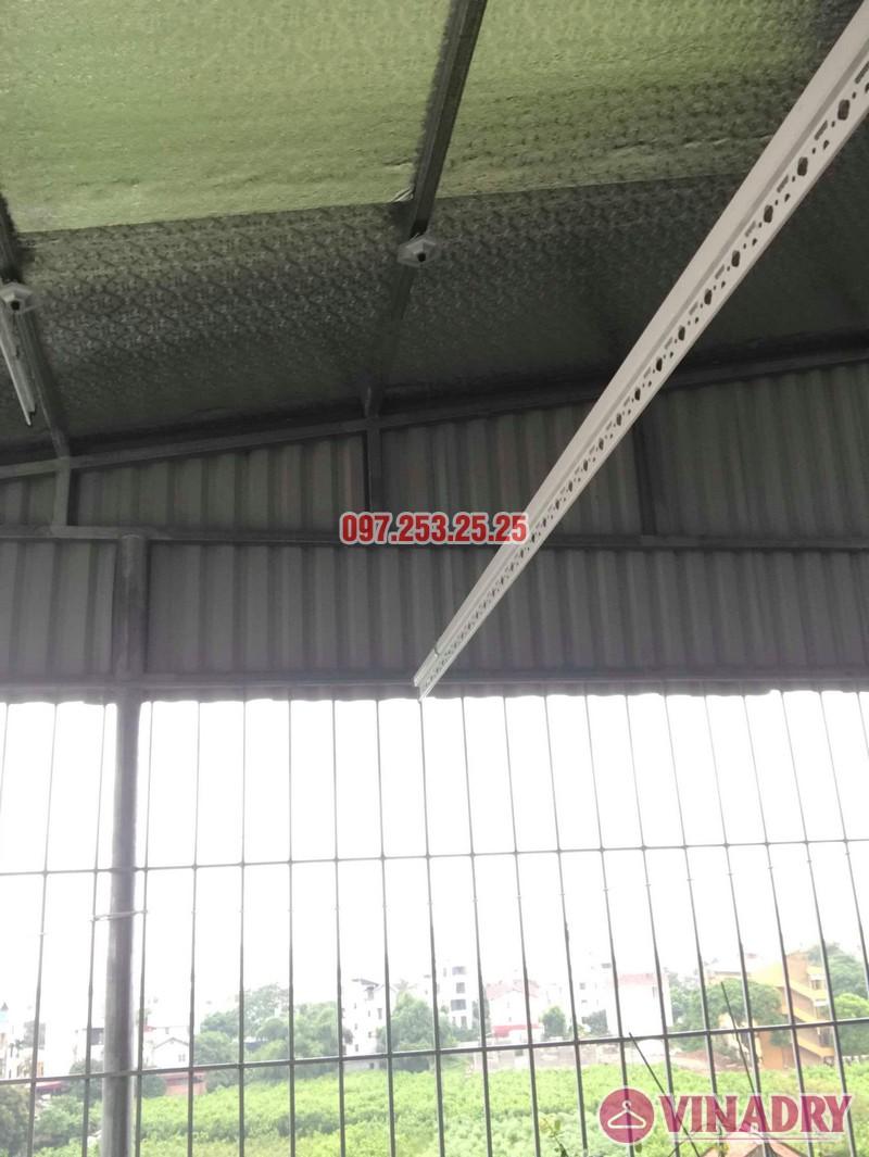Lắp giàn phơi cho trần mái tôn nhà chú Tâm, 316 Ngọc Thụy, Long Biên, Hà Nội - 06