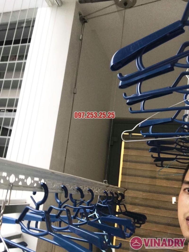 Lắp giàn phơi thông minh Park Hill Times City nhà chị Ca, Tòa Park 11 - 02