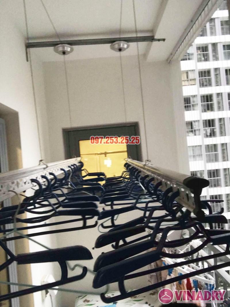 Lắp giàn phơi thông minh Park Hill Times City nhà chị Ca, Tòa Park 11 - 03