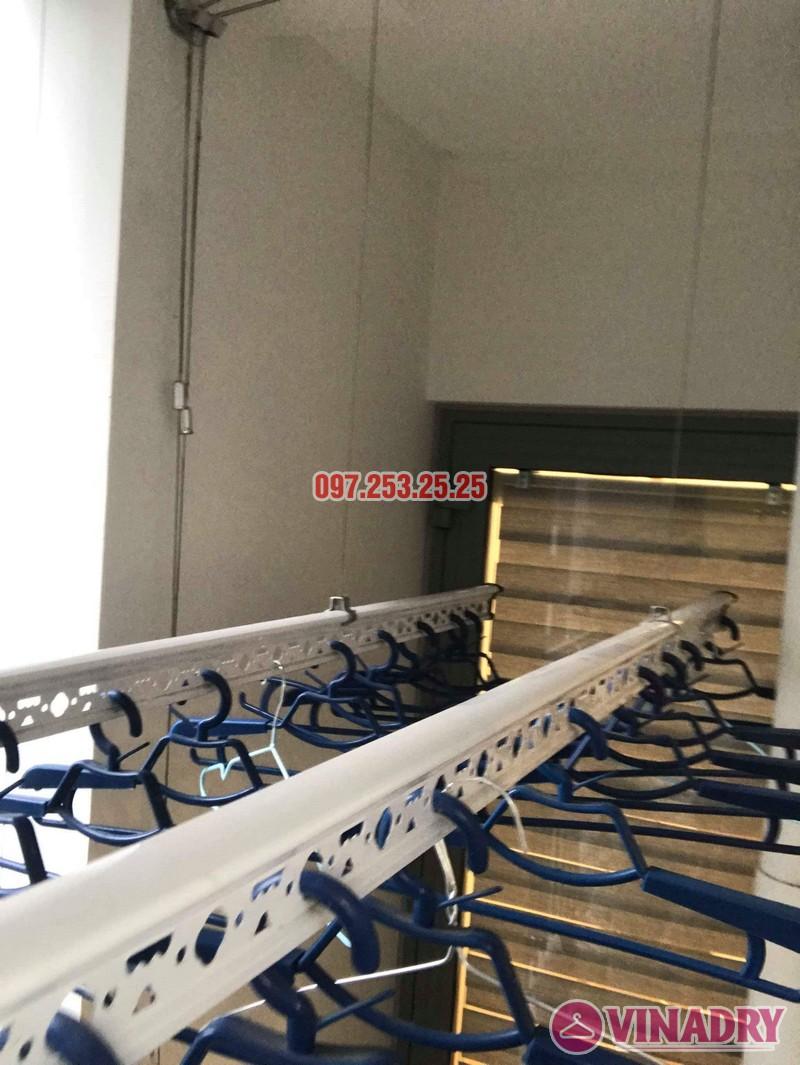 Lắp giàn phơi thông minh Park Hill Times City nhà chị Ca, Tòa Park 11 - 05