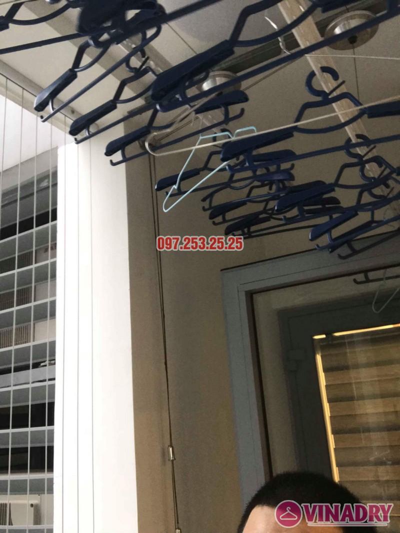 Lắp giàn phơi thông minh Park Hill Times City nhà chị Ca, Tòa Park 11 - 07