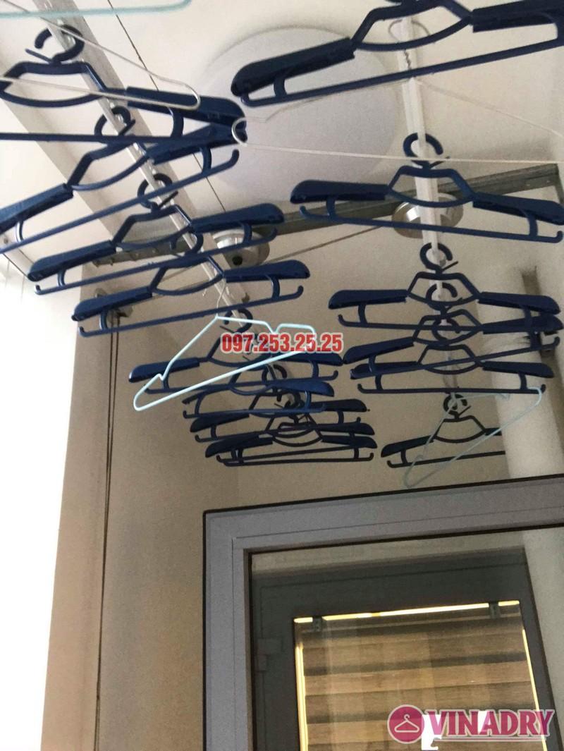 Lắp giàn phơi thông minh Park Hill Times City nhà chị Ca, Tòa Park 11 - 08